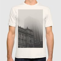 Millender - Downtown Det… Mens Fitted Tee Natural SMALL