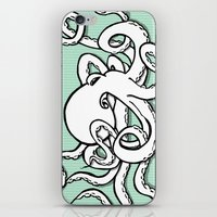 8 Arms in Motion V2 iPhone & iPod Skin