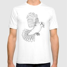 Dynamic Flight SMALL Mens Fitted Tee White