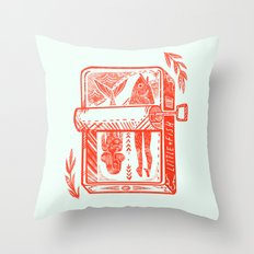 Little Fish Throw Pillow