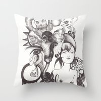 Imaginación Throw Pillow