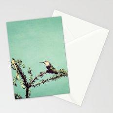 Hummingbird at rest Stationery Cards