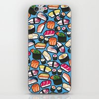 Sushi Blue iPhone & iPod Skin