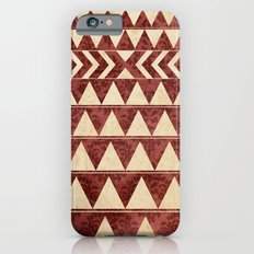Vintage Material Triangles iPhone 6s Slim Case