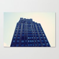 NYC Blue Canvas Print