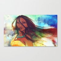 The Wind... Canvas Print