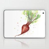 Red Beet Watercolor | Ve… Laptop & iPad Skin