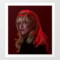 Laura Palmer from Twin Peaks Art Print