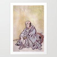 On A Journey Art Print