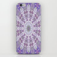 Jungle Kaleidoscope Amethyst iPhone & iPod Skin