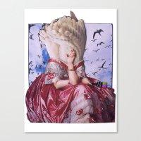 Fortuna | Collage Canvas Print