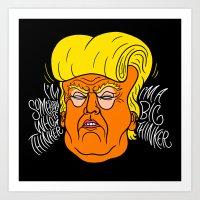 Big Thinker Art Print