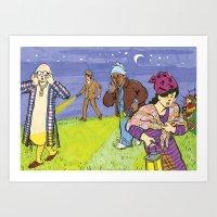 The Searchers Art Print