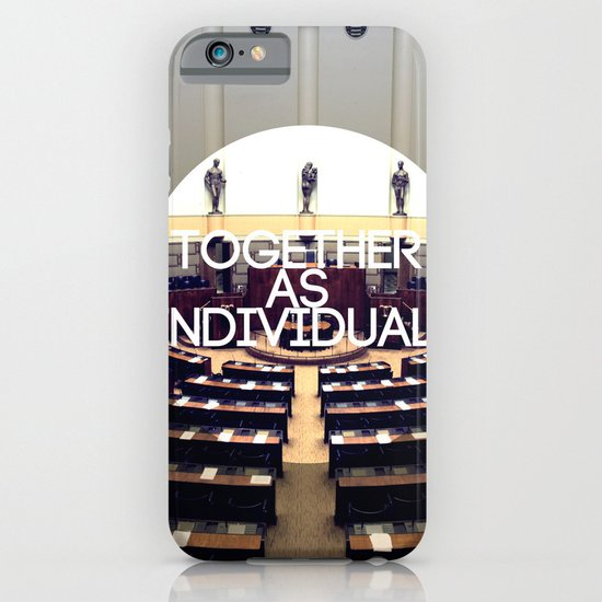 Together As Individuals iPhone & iPod Case