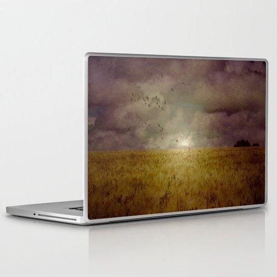 When we walked in fields of gold Laptop & iPad Skin