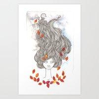 Ulalume Art Print