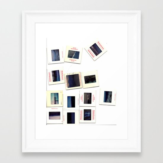 Kodachrome Framed Art Print
