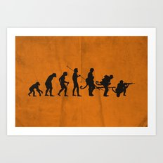 Involution! Art Print