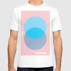 untitled 14 Mens Fitted Tee White SMALL