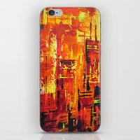 Chicago Fire iPhone & iPod Skin