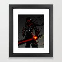Beat full armor Framed Art Print