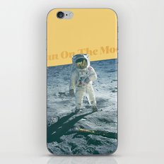 Man On The Moon iPhone & iPod Skin