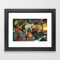 Venture Framed Art Print
