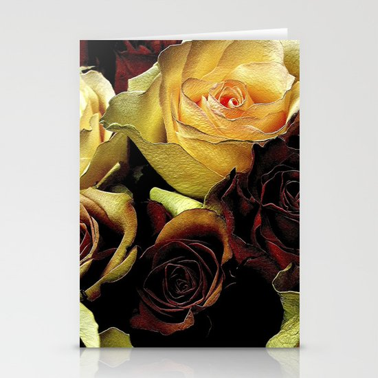 LOVE over GOLD Stationery Card