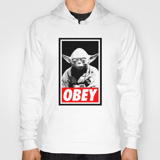Obey Yoda - Star Wars Hoody