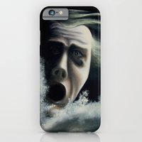 iPhone & iPod Case featuring Man overboard by The Being art