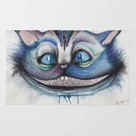 Cheshire Cat Grin - Alic… Rug