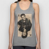 the King of hearts Unisex Tank Top