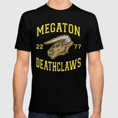 Megaton Deathclaws Mens Fitted Tee Black SMALL
