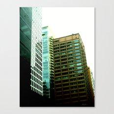 Leaning Skyline Canvas Print
