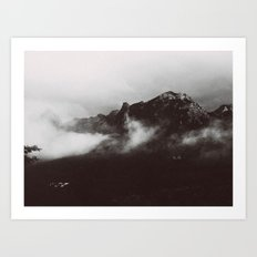 MOUNTAINSIDE Art Print