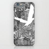 Ecotone (black & white) iPhone 6 Slim Case
