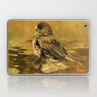 The Bathing Junco Laptop & iPad Skin