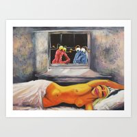 Yip Yipflow Art Print