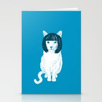 Bobcat. Stationery Cards