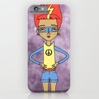 iPhone & iPod Case featuring Anyone Can Change The World by Katy Davis