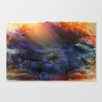 Ambient Galaxy Canvas Print