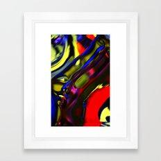 Incarnation of Madness Framed Art Print