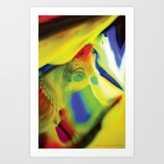 Manifestation in Yellow Art Print