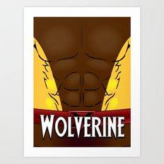 Wolverine Classic Art Print