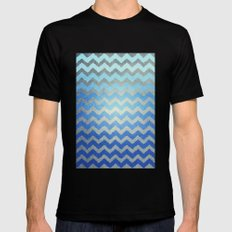Thinking Of The Sea SMALL Mens Fitted Tee Black