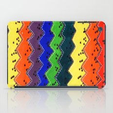 Anonymous rainbow iPad Case