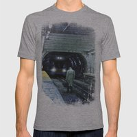 The Escape Mens Fitted Tee Athletic Grey SMALL