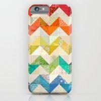Chevron Rainbow Quilt iPhone 6 Slim Case
