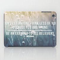 1 Timothy 4:12 iPad Case
