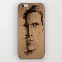 HALF FACE iPhone & iPod Skin